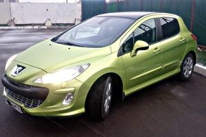Автомобиль Peugeot 308, хорошее состояние, 2008 года выпуска, цена 355 000 руб., Нижнекамск