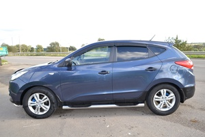 Подержанный автомобиль Hyundai ix35, хорошее состояние, 2010 года выпуска, цена 650 000 руб., Протвино