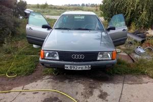 Подержанный автомобиль Audi 100, хорошее состояние, 1986 года выпуска, цена 90 000 руб., Самара