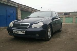 Подержанный автомобиль Mercedes-Benz C-Класс, хорошее состояние, 2001 года выпуска, цена 400 000 руб., Раменское