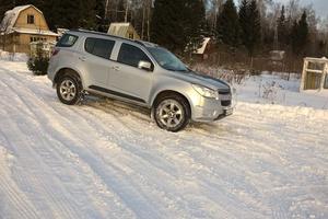 Подержанный автомобиль Chevrolet TrailBlazer, хорошее состояние, 2013 года выпуска, цена 980 000 руб., Реутов