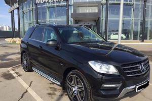 Подержанный автомобиль Mercedes-Benz M-Класс, отличное состояние, 2012 года выпуска, цена 2 050 000 руб., Казань