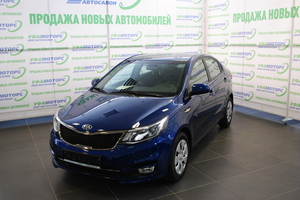 Авто Kia Rio, 2017 года выпуска, цена 565 000 руб., Уфа