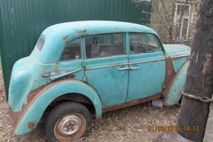 Автомобиль Москвич 400, среднее состояние, 1950 года выпуска, цена 35 000 руб., Иваново