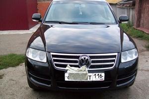 Автомобиль Volkswagen Touareg, хорошее состояние, 2003 года выпуска, цена 550 000 руб., Казань