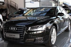Новый автомобиль Audi A8, 2017 года выпуска, цена 5 883 000 руб., Москва