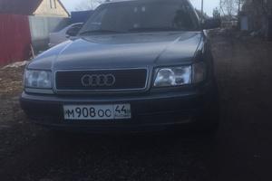 Подержанный автомобиль Audi 100, хорошее состояние, 1992 года выпуска, цена 210 000 руб., Кострома
