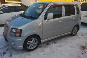 Автомобиль Suzuki Wagon R, отличное состояние, 2002 года выпуска, цена 235 000 руб., Москва