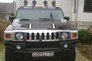 Автомобиль Hummer H2, отличное состояние, 2004 года выпуска, цена 1 200 000 руб., Москва