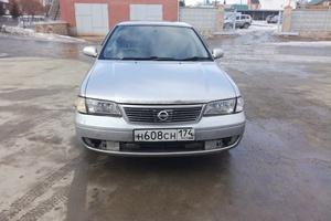 Автомобиль Nissan Sunny, хорошее состояние, 2002 года выпуска, цена 180 000 руб., Челябинск