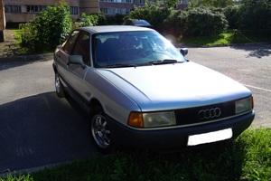 Подержанный автомобиль Audi 80, хорошее состояние, 1991 года выпуска, цена 125 000 руб., Санкт-Петербург