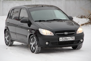 Подержанный автомобиль Hyundai Getz, отличное состояние, 2008 года выпуска, цена 287 000 руб., Коломна