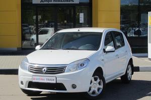 Авто Renault Sandero, 2014 года выпуска, цена 389 000 руб., Москва