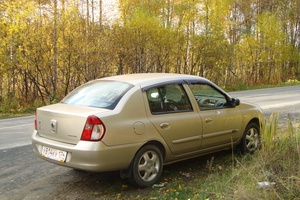 Подержанный автомобиль Renault Symbol, хорошее состояние, 2007 года выпуска, цена 260 000 руб., Челябинск