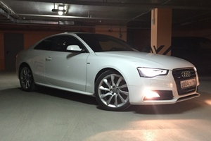 Подержанный автомобиль Audi A5, отличное состояние, 2013 года выпуска, цена 1 400 000 руб., Екатеринбург