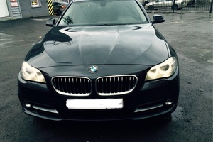 Автомобиль BMW 5 серия, отличное состояние, 2014 года выпуска, цена 1 750 000 руб., Челябинск