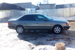 Автомобиль Audi 100, хорошее состояние, 1991 года выпуска, цена 160 000 руб., Нелидово