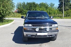 Подержанный автомобиль Chevrolet Suburban, отличное состояние, 2001 года выпуска, цена 800 000 руб., Екатеринбург