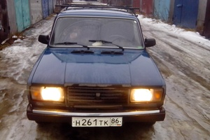 Подержанный автомобиль ВАЗ (Lada) 2107, среднее состояние, 2008 года выпуска, цена 50 000 руб., Сургут
