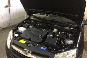 Подержанный автомобиль ВАЗ (Lada) Granta, отличное состояние, 2013 года выпуска, цена 305 000 руб., Миасс