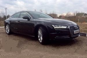 Подержанный автомобиль Audi A7, отличное состояние, 2015 года выпуска, цена 3 470 000 руб., Москва