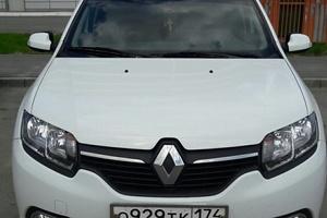 Подержанный автомобиль Renault Logan, отличное состояние, 2015 года выпуска, цена 498 000 руб., Челябинская область