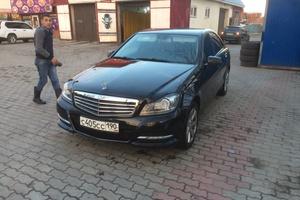 Подержанный автомобиль Mercedes-Benz C-Класс, хорошее состояние, 2013 года выпуска, цена 900 000 руб., Железнодорожный