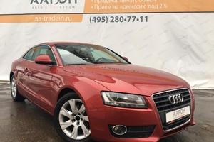 Подержанный автомобиль Audi A5, отличное состояние, 2009 года выпуска, цена 695 000 руб., Москва