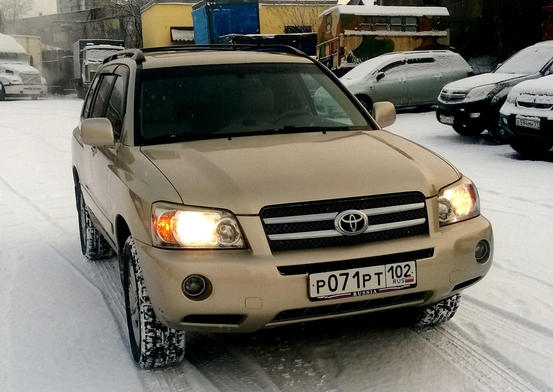 мурманск Toyota Хайлендер #11