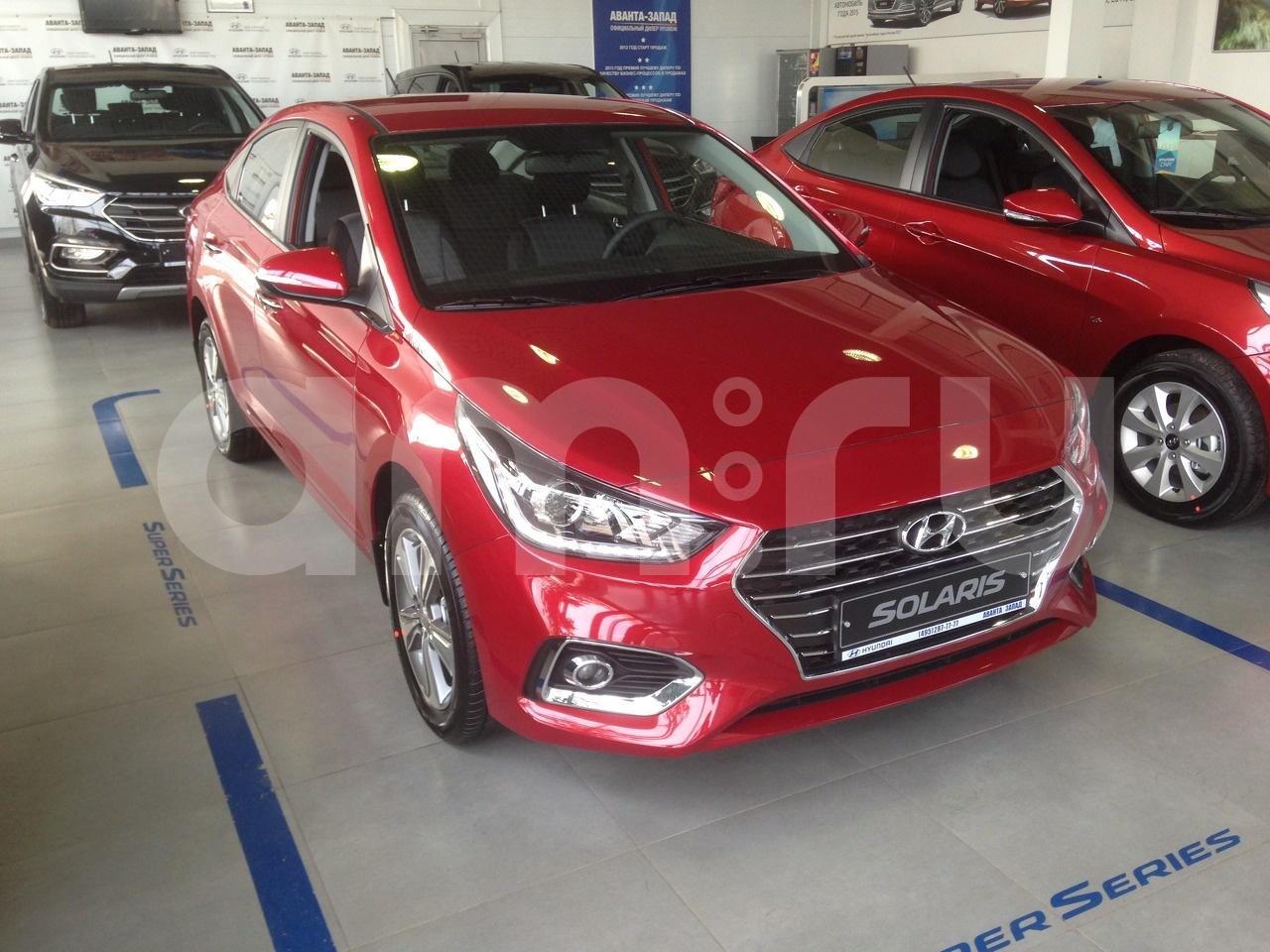 Hyundai Solaris Солярис цена комплектации обзор
