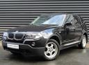 Подержанный BMW X3, черный, 2009 года выпуска, цена 788 300 руб. в Санкт-Петербурге, автосалон