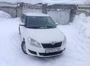 Подержанный Skoda Fabia, белый , цена 280 000 руб. в Кемеровской области, хорошее состояние