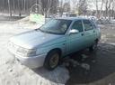 Подержанный ВАЗ (Lada) 2112, голубой , цена 120 000 руб. в Ульяновской области, хорошее состояние