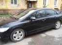 Подержанный Honda Civic, черный , цена 420 000 руб. в Омске, отличное состояние