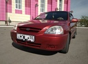 Подержанный Kia Rio, бордовый , цена 249 000 руб. в Омске, хорошее состояние
