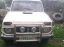 Подержанный ВАЗ (Lada) 4x4, белый , цена 90 000 руб. в Челябинской области, среднее состояние