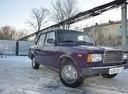 Подержанный ВАЗ (Lada) 2107, фиолетовый , цена 30 000 руб. в республике Татарстане, среднее состояние