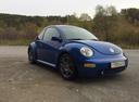 Подержанный Volkswagen Beetle, синий , цена 320 000 руб. в Челябинской области, хорошее состояние