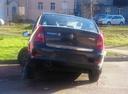 Подержанный Renault Logan, серый металлик, цена 99 999 руб. в Санкт-Петербурге, битый состояние