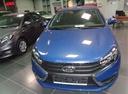 Подержанный ВАЗ (Lada) Vesta, синий, 2016 года выпуска, цена 492 000 руб. в Уфе, автосалон УФА МОТОРС