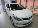 Подержанный Hyundai Solaris, белый, 2015 года выпуска, цена 678 000 руб. в Ростове-на-Дону, автосалон