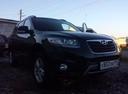 Подержанный Hyundai Santa Fe, черный , цена 880 000 руб. в Челябинской области, отличное состояние