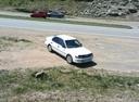 Подержанный Toyota Corolla, белый , цена 100 000 руб. в Владивостоке, среднее состояние