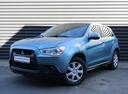 Подержанный Mitsubishi ASX, голубой, 2011 года выпуска, цена 608 700 руб. в Санкт-Петербурге, автосалон