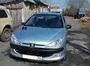 Подержанный Peugeot 206, голубой , цена 180 000 руб. в Тюмени, хорошее состояние