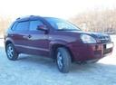 Подержанный Hyundai Tucson, бордовый, 2004 года выпуска, цена 495 000 руб. в Тюмени, автосалон