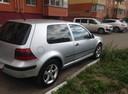 Подержанный Volkswagen Golf, серебряный , цена 230 000 руб. в Омске, хорошее состояние