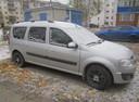 Подержанный ВАЗ (Lada) Largus, серебряный , цена 420 000 руб. в ао. Ханты-Мансийском Автономном округе - Югре, хорошее состояние