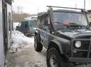 Подержанный УАЗ Hunter, зеленый металлик, цена 350 000 руб. в Смоленской области, хорошее состояние