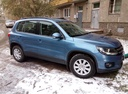Подержанный Volkswagen Tiguan, синий , цена 750 000 руб. в Челябинской области, хорошее состояние